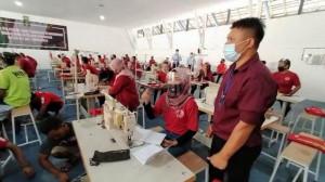 Rutan Solo Produksi Industri Garmen, Warga Lapas Dibekali Keterampilan Menjahit