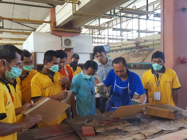 Diklat 3-in-1 Bidang Finishing Furniture Angkatan I
