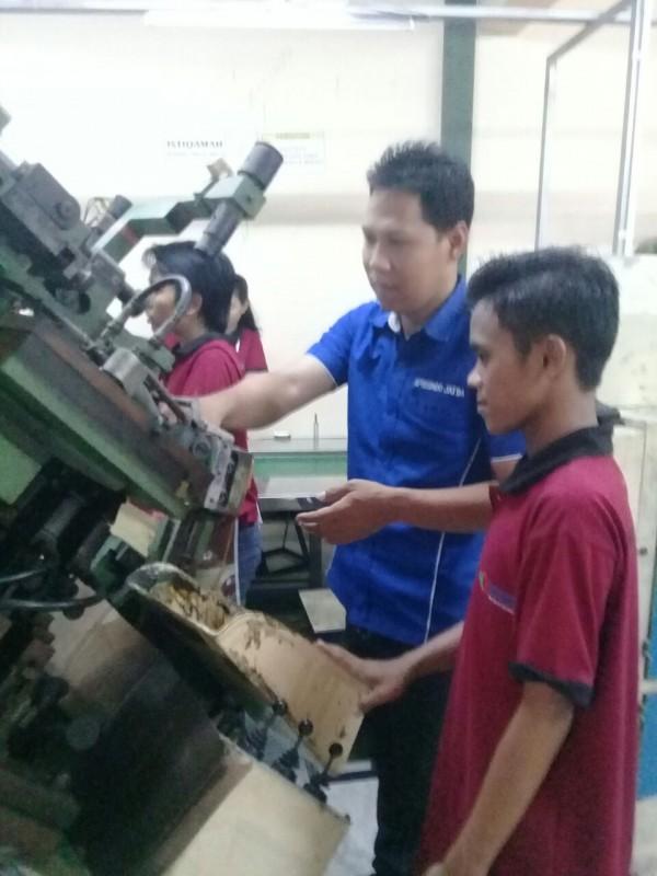 Diklat 3-in-1 Pengoperasian Mesin Assembling Alas Kaki Angkatan II