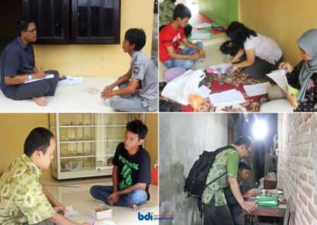 Pendampingan dan Verifikasi Lapangan peserta diklat oleh Widyaiswara BDI Yogyakarta pada Diklat Penumbuhan Wirausaha Baru Bidang Pelapisan Logam