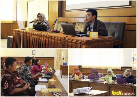 Workshop Penyusunan Skema dan Materi Uji Kompetensi Balai Diklat Industri Yogyakarta (9/2)