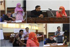 Kasi Penyelenggaraan Diklat BDI Yogyakarta, Tevi Dwi Kurniaty, mewakili Kepala BDI untuk membuka acara secara resmi
