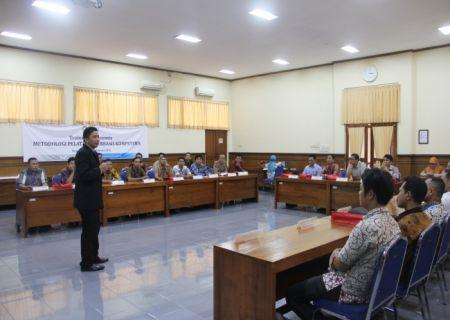 Review dan evaluasi dari instruktur setelah micro teaching