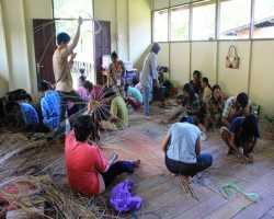 Diklat Rotan di Kalimantan