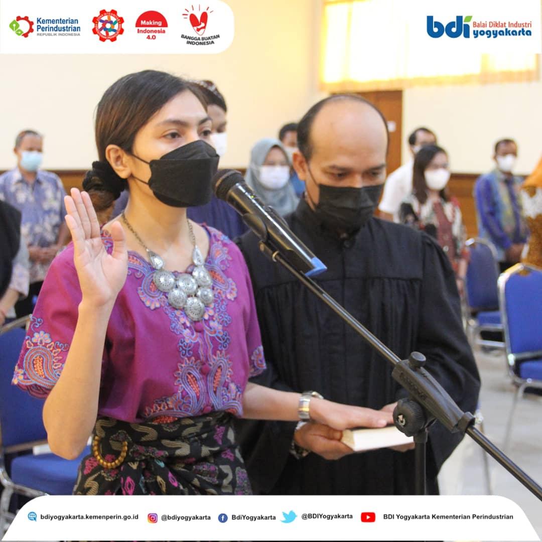 Pelantikan Fungsional Instruktur Balai Diklat Industri Yogyakarta