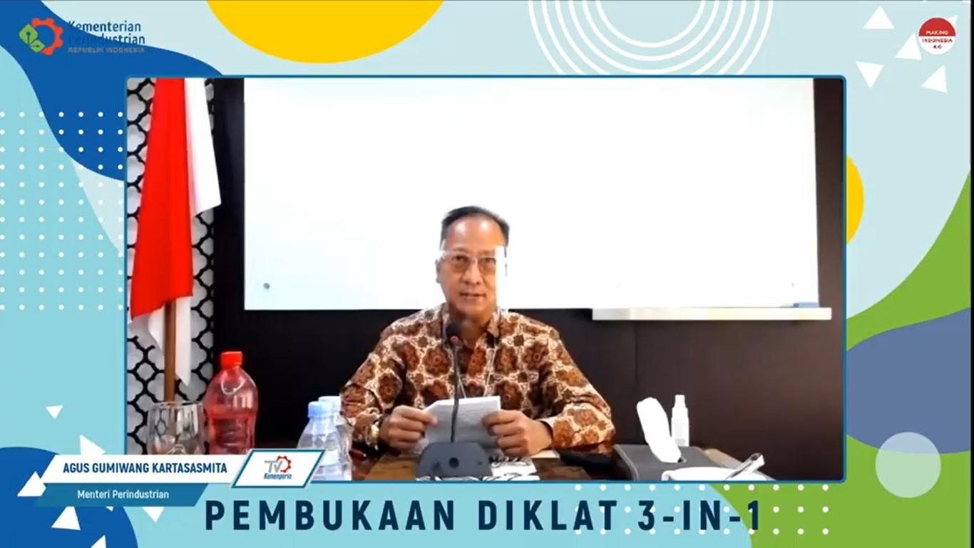 Pembukaan Pelatihan 3-in-1 Serentak di 7 Balai Diklat Industri.