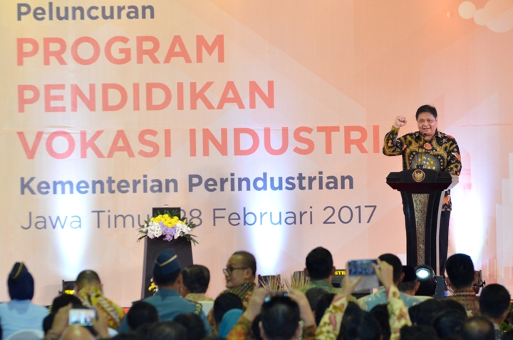 Pemerintah Luncurkan Program Vokasi Industri di Jawa Timur