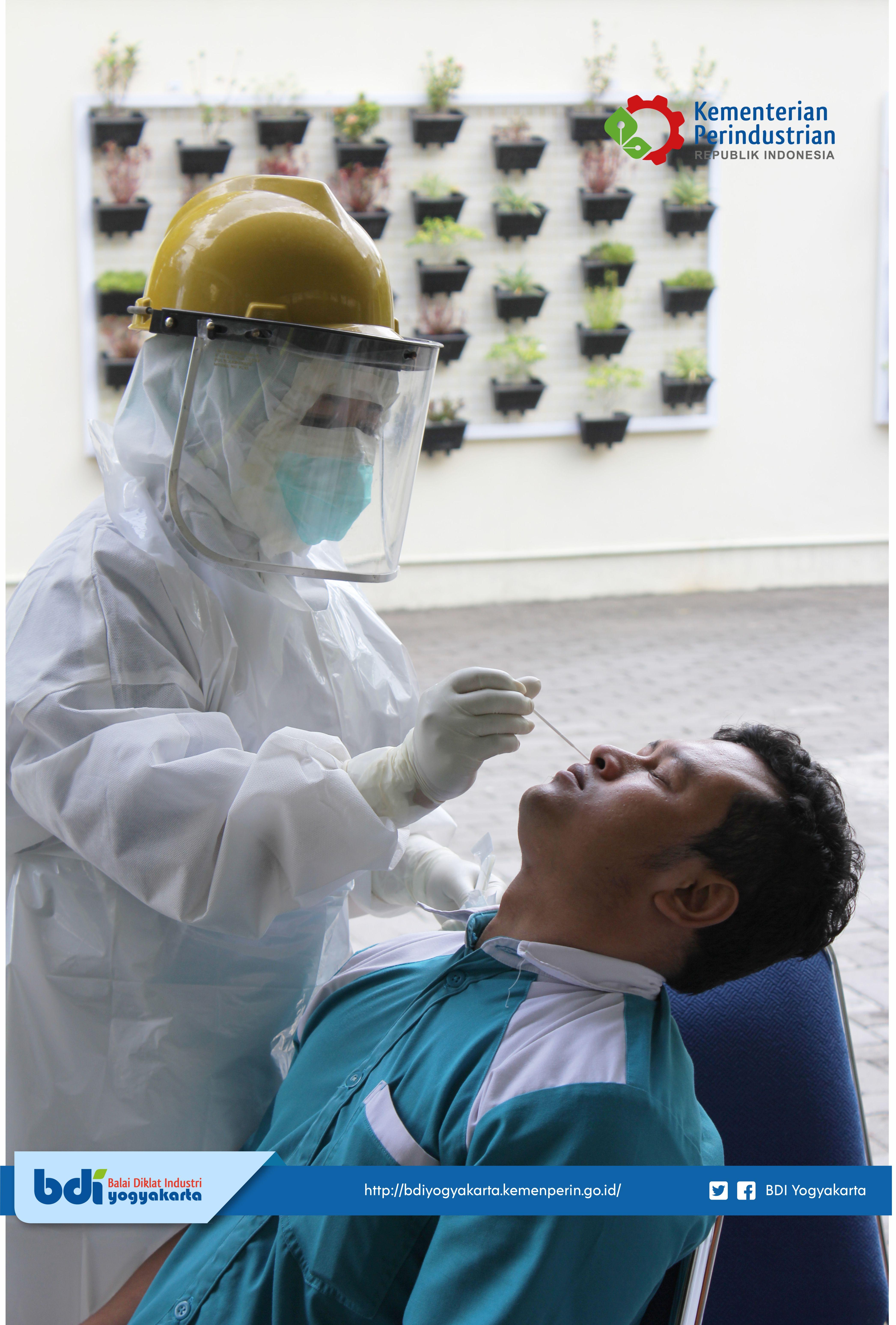 Swab Test di Lingkungan BDI Yogyakarta