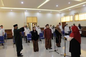 Pelantikan Pejabat Fungsional Instruktur Balai Diklat Industri Yogyakarta