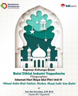 Selamat Hari Raya Idul Fitri 1441 H